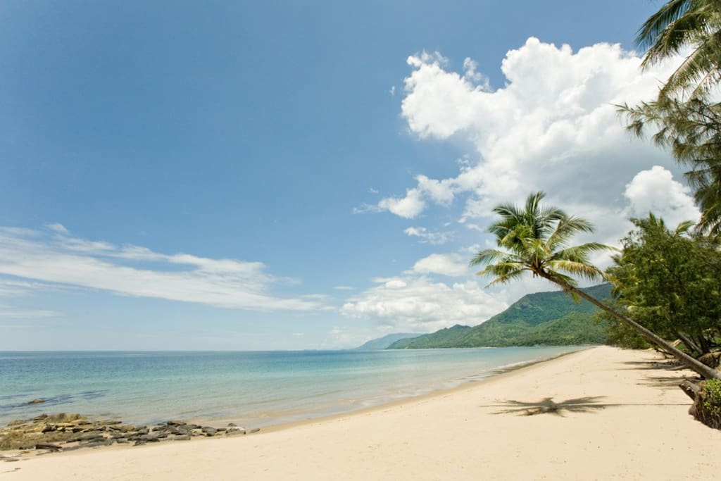 Thala's private-access beach!