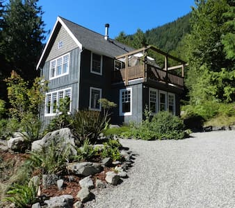 Secluded Olympic Nat'l Park Retreat - 安吉利斯港(Port Angeles)