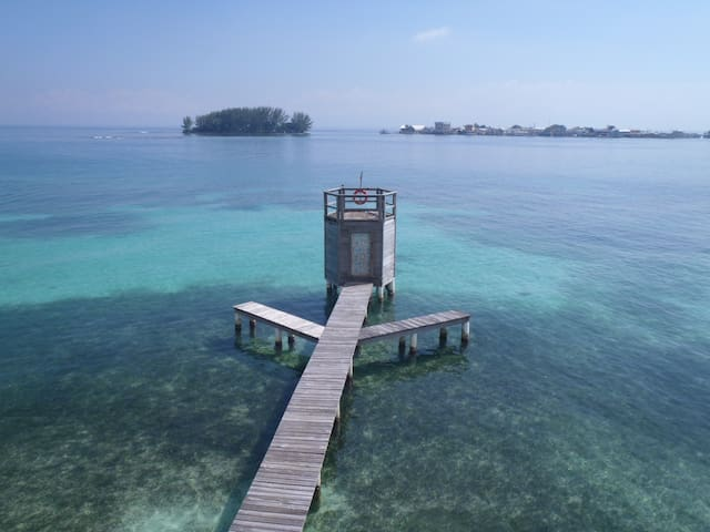 Your OWN CABIN with your own BEACH! - Utila