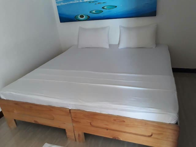 Affortable Deluxe Double Room @ Maafushi Stay