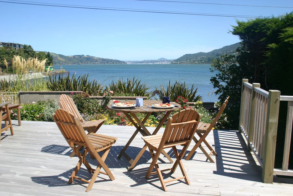 Alfresco dining on your deck, directly outside the lounge.