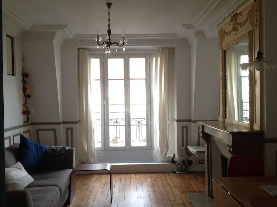 Nid romantique paris appartements louer paris le - Nid rouge lincroyable appartement paris ...