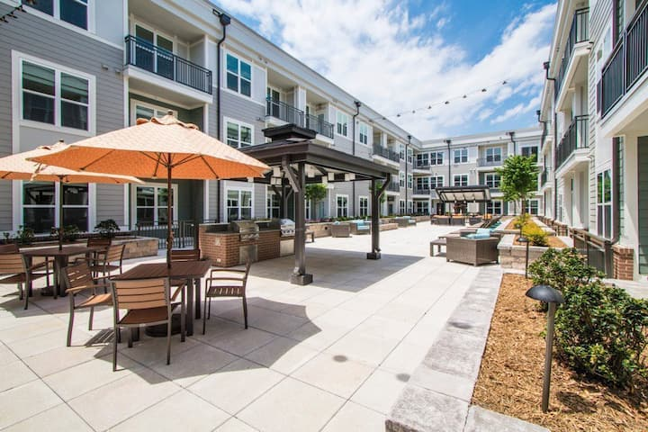 Stay as long as you want | 1BR in Charlotte