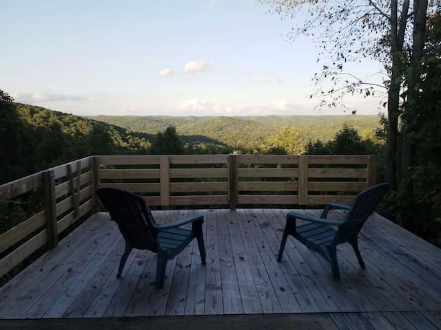 Beautiful patio view