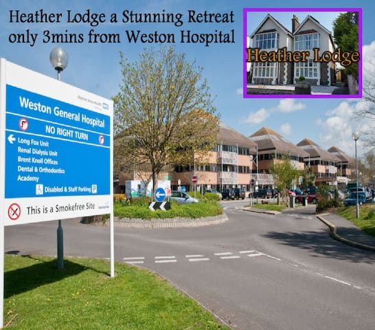 Stunning retreat 4 NHS providers 3min frm hospital