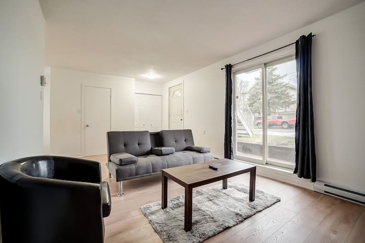 Spacious & modern-2 Bedroom Near Downtown Ottawa