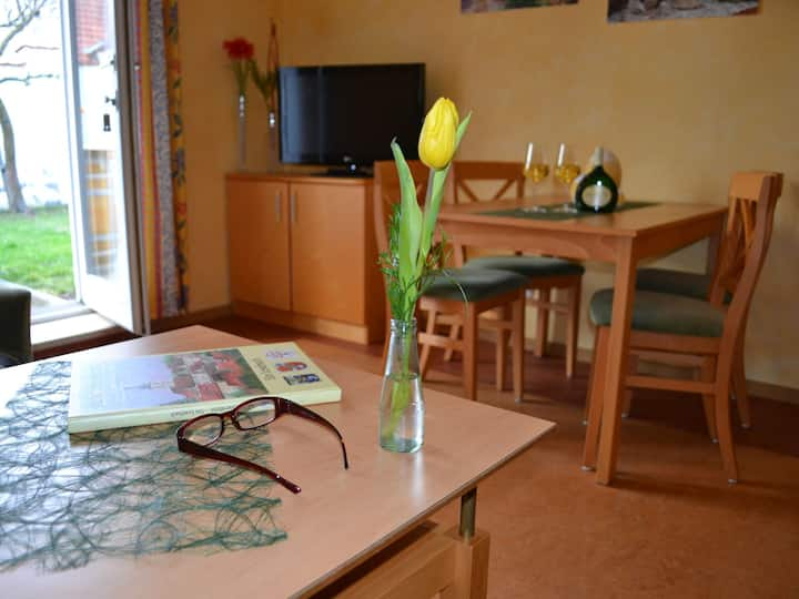Hotel-Gasthof Rotes Ross, (Markt Einersheim), Appartement, 40qm, 1 Schlafzimmer, max. 4 Personen