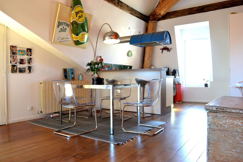 Grand logement à Montpellier