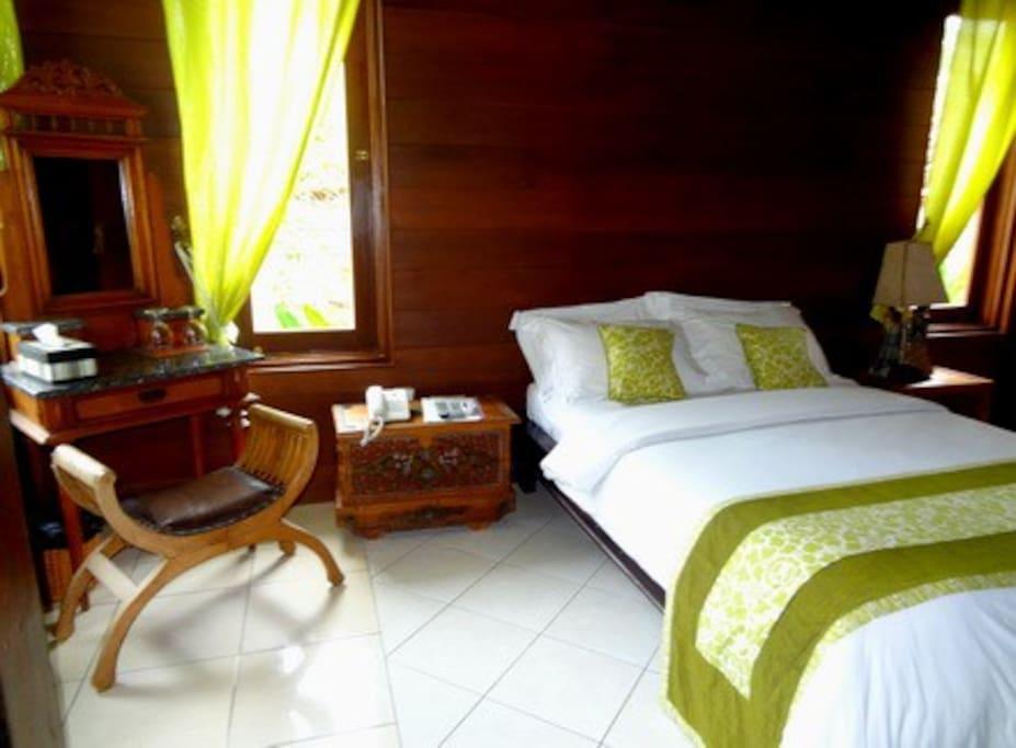Villa Kamboja Bedroom