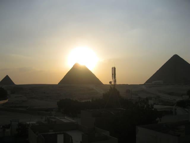 Pyramids View Apartment 1 - Giza , Pyramids - Huis