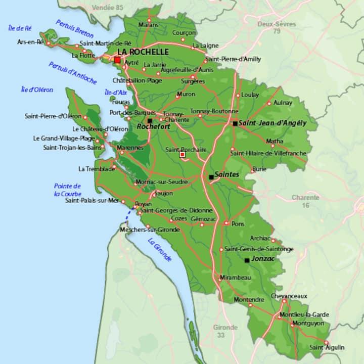 Venez goûter aux plaisirs de la Charente Maritime