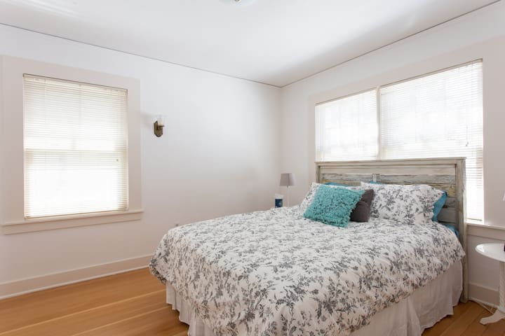 First Bedroom with Queen Bed
