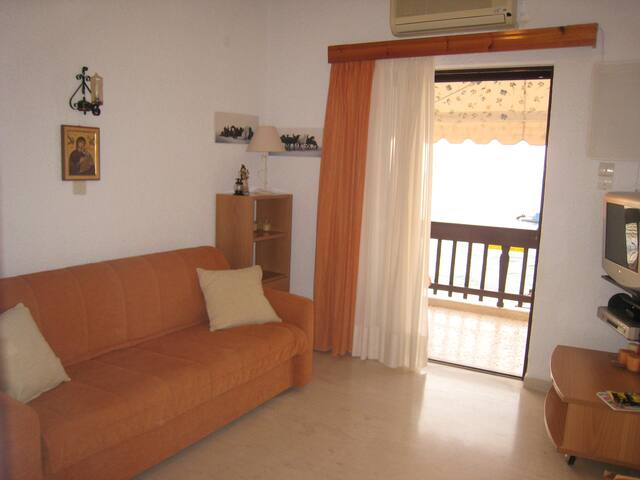 Peloponese Platanos, Sea Front studio - Achaea - Appartement
