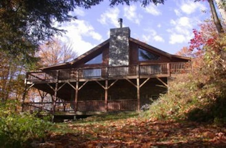 Walch Creekside Log Cabin Smoky Mnt - Sylva - Cabin