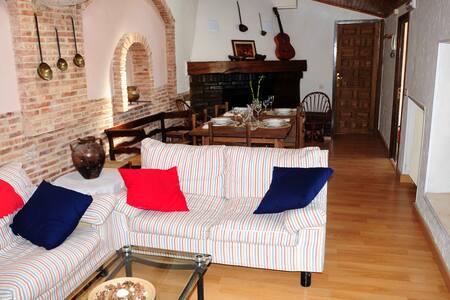 Casa rural con jardin y piscina - San Esteban de Gormaz - Talo