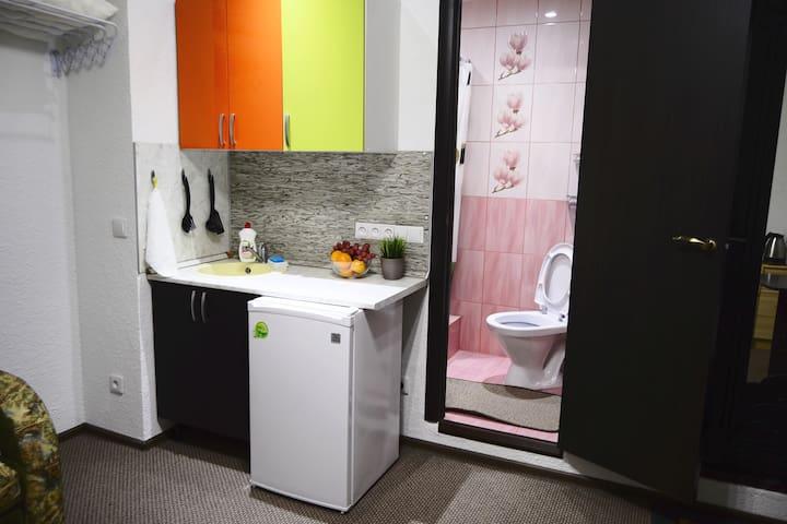 Апартаменты-студио Suponevo Life в Звенигороде - Zvenigorod - Appartement