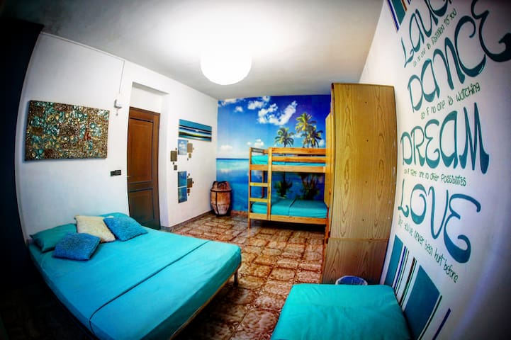 cheap and nice room in Calabria!  - Praia A Mare - บ้าน