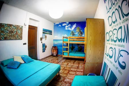 cheap and nice room in Calabria!  - Praia A Mare - Ev