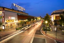 Victoria gardens outdoor shopping center