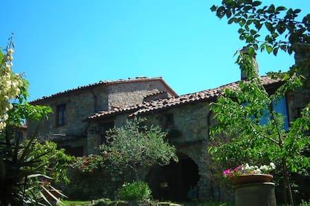 Holiday farmhouse w. pool in Umbria - Montegiove - Ház