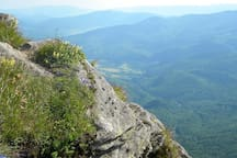 On the Pikuj peak - you can see Kukavica from there in a good weather