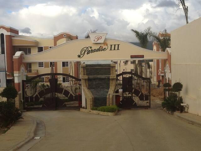 Luxury Apartment /Wifi & Cable TV - Santiago de los Caballeros - Apartamento