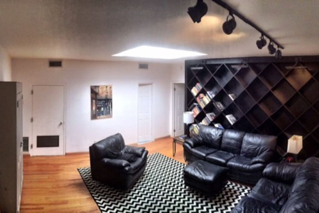 Second Living Room/Study with Huge SkyLight