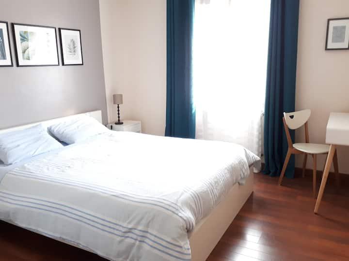 Jolie chambre meublée proche Rennes et en campagne