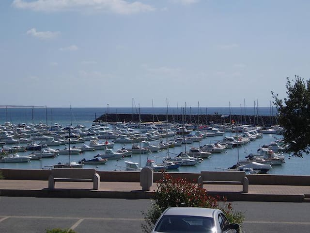 Studio 4 personnes face au port - Jard-sur-Mer - Appartement