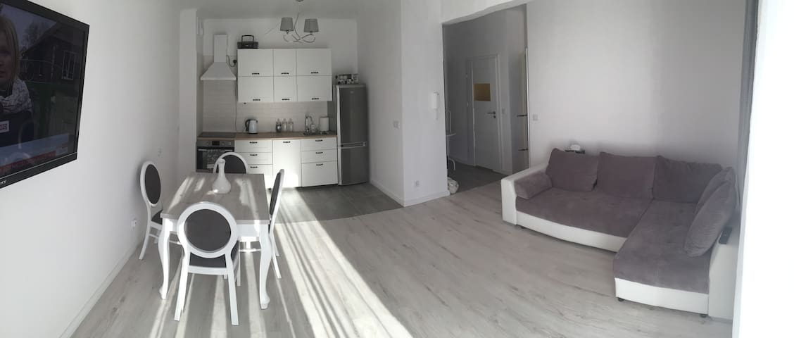 Nice Apartment,yard,child friendly - Kraków - Apartment