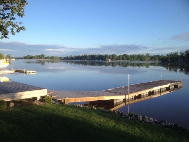 Escape to Netley Creek in Petersfield, Manitoba