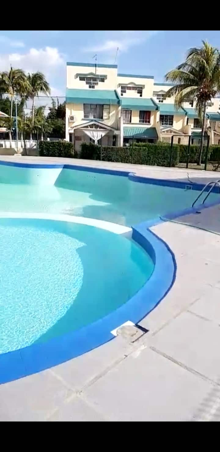House with 3 bedrooms in Flic en Flac, with shared pool, enclosed garden and WiFi