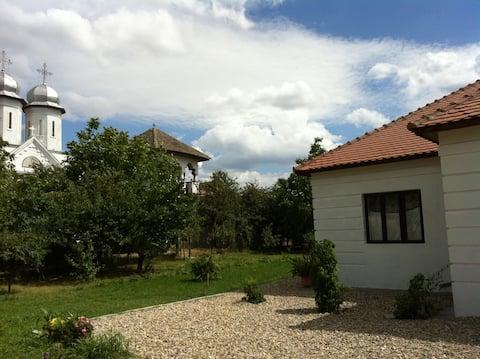 Countryside fishingvillage Danube
