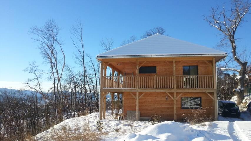 Chambre avec terrasse panoramique - Gap - House