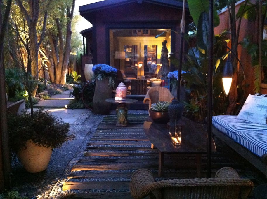 Welcome to one of San Francisco's secret gardens.
