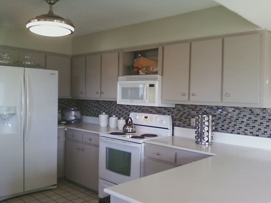 Make yourself at home in this large kitchen