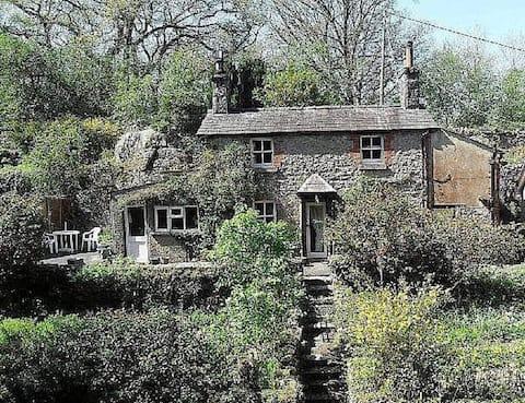 Rock Cottage, a bijou woodland retreat in AONB