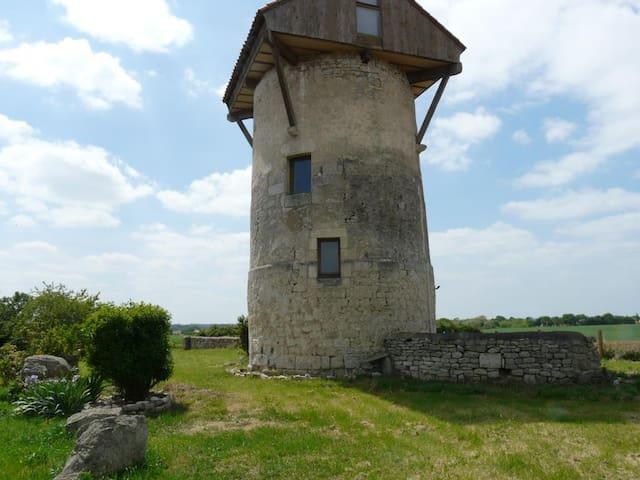 """Le moulin """"encabané"""""""
