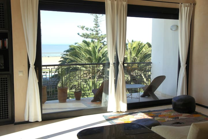Amazing apartment with sea view - Essaouira - Apartemen