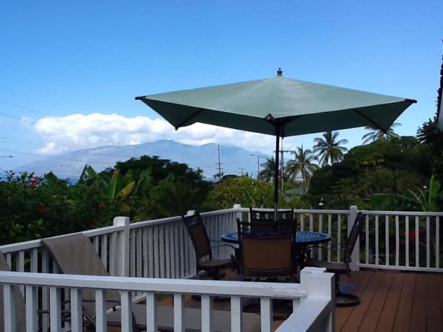 Ocean and garden views from your own private lanai