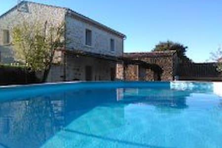 Mas 4 chambres 2 salles d'eau près de la Garrigue - Domessargues - Haus
