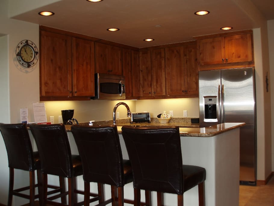 Gourmet Kitchen-Granite Counters, Stainless Steel Appliances