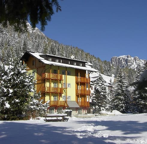 3-room apartment for 5-7 persons - Val di Fassa TO - Pera - Leilighet