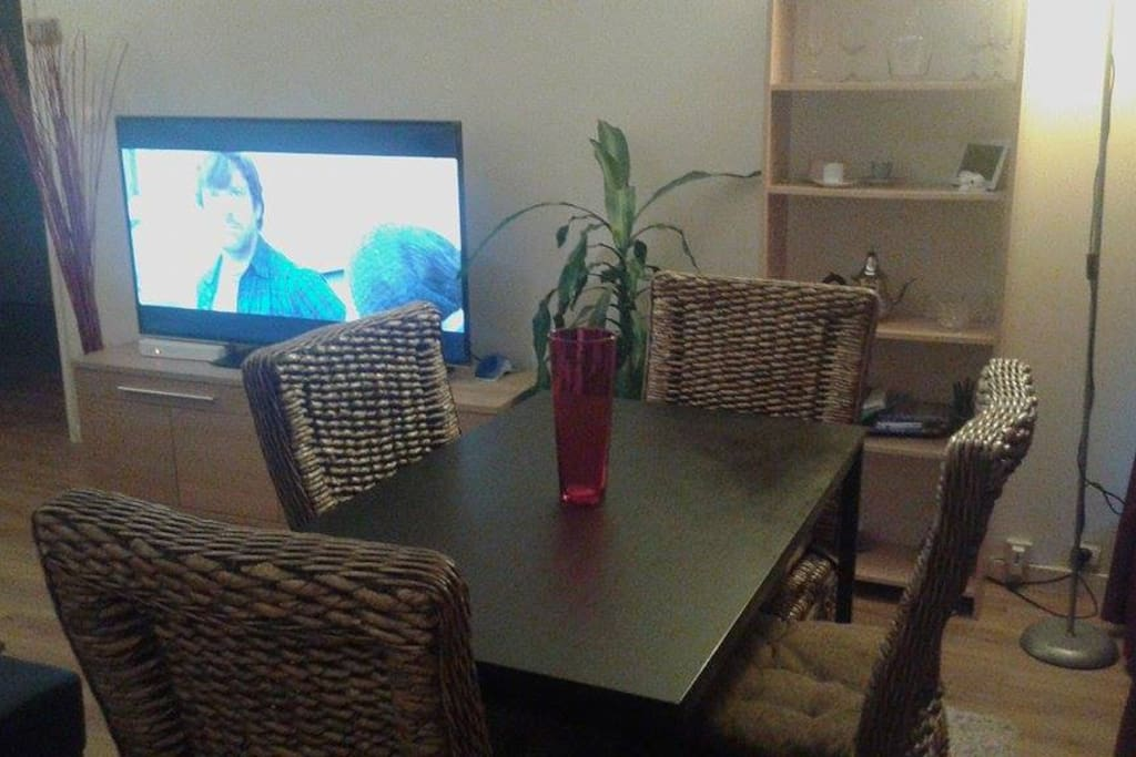 salon avec salle à manger
