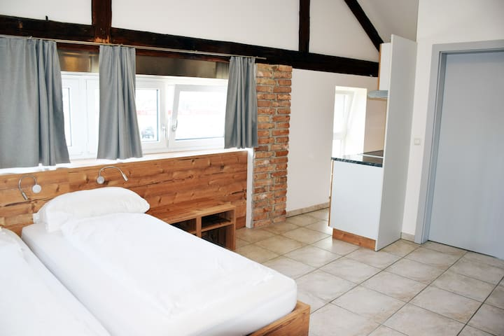 Apartment mit 2 Betten