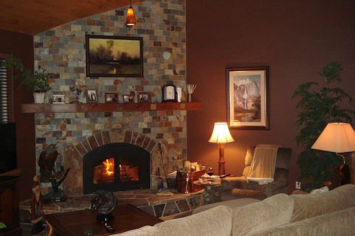 Yosemite/Bass Lake Bed & Kitchen - North Fork - Dům