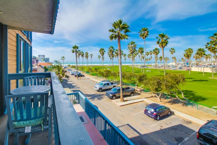 NEW UPGRADES | Ocean View Family Condo overlooking Belmont Park!