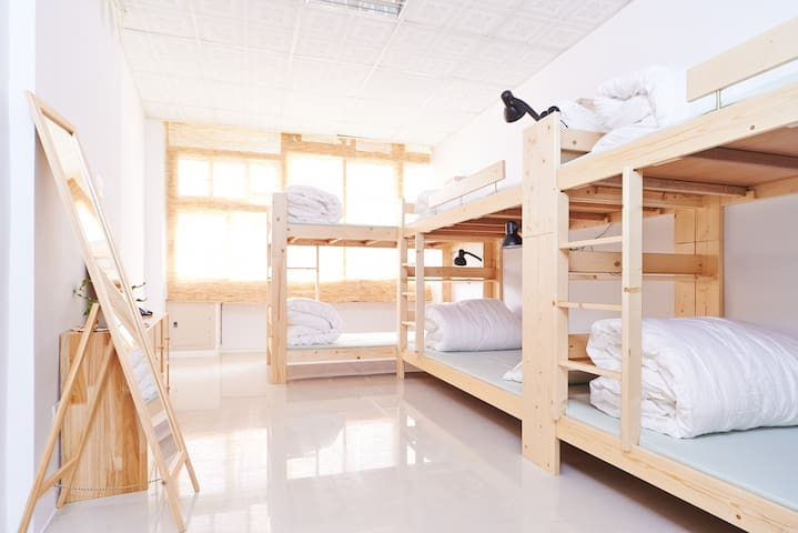 Green Hostel 4-6 Bed  Dorm - Luodong Township - Studentrum