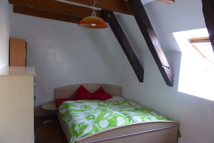 Room in sunny maisonette, free wifi