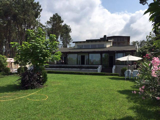 Villa on the Black Sea coast. First line - Shekvetili
